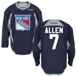 Adult Authentic New York Rangers Conor Allen Navy Blue Alternate Official Reebok Jersey