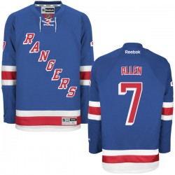 Adult Premier New York Rangers Conor Allen Royal Blue Home Official Reebok Jersey