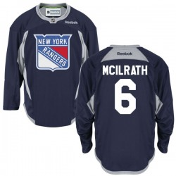 Adult Authentic New York Rangers Dylan Mcilrath Navy Blue Alternate Official Reebok Jersey