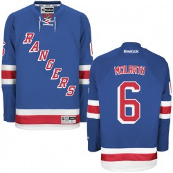 Adult Authentic New York Rangers Dylan Mcilrath Royal Blue Home Official Reebok Jersey