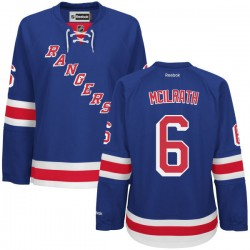 Women's Authentic New York Rangers Dylan Mcilrath Royal Blue Home Official Reebok Jersey
