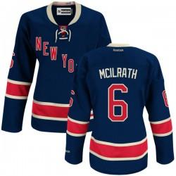 Women's Premier New York Rangers Dylan Mcilrath Navy Blue Alternate Official Reebok Jersey