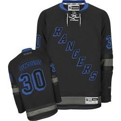 Adult Authentic New York Rangers Henrik Lundqvist Black Ice Official Reebok Jersey