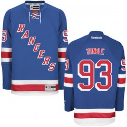 Adult Authentic New York Rangers Keith Yandle Royal Blue Home Official Reebok Jersey