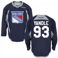 Adult Premier New York Rangers Keith Yandle Navy Blue Alternate Official Reebok Jersey
