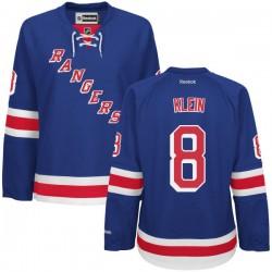 Women's Premier New York Rangers Kevin Klein Royal Blue Home Official Reebok Jersey
