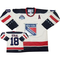 Adult Authentic New York Rangers Marc Staal White Winter Classic Official Reebok Jersey