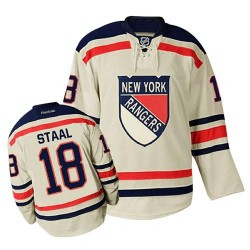 Adult Authentic New York Rangers Marc Staal Cream Winter Classic Official Reebok Jersey