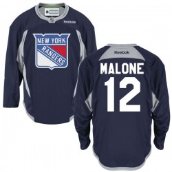 Adult Premier New York Rangers Ryan Malone Navy Blue Alternate Official Reebok Jersey