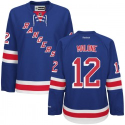 Women's Premier New York Rangers Ryan Malone Royal Blue Home Official Reebok Jersey
