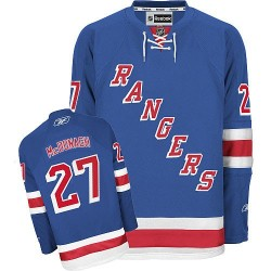 Women's Authentic New York Rangers Ryan McDonagh Royal Blue Home Official Reebok Jersey