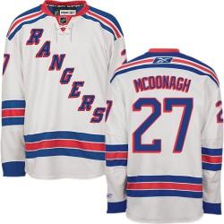 Women's Premier New York Rangers Ryan McDonagh White Away Official Reebok Jersey