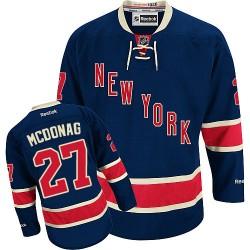 Women's Authentic New York Rangers Ryan McDonagh Navy Blue Third Official Reebok Jersey