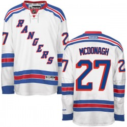 Adult Authentic New York Rangers Ryan McDonagh White Ryan Mcdonagh Away Official Reebok Jersey