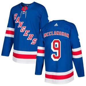 Adult Authentic New York Rangers Rob Mcclanahan Royal Blue Home Official Adidas Jersey