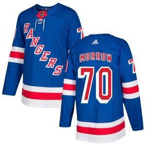 Adult Authentic New York Rangers Joe Morrow Royal Blue Home Official Adidas Jersey
