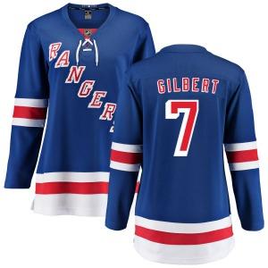 Women's Breakaway New York Rangers Rod Gilbert Blue Home Official Fanatics Branded Jersey