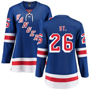 Women's Breakaway New York Rangers Martin St. Louis Blue Home Official Fanatics Branded Jersey