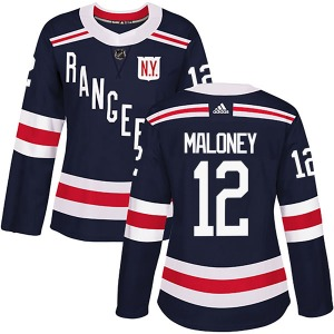 Women's Authentic New York Rangers Don Maloney Navy Blue 2018 Winter Classic Home Official Adidas Jersey