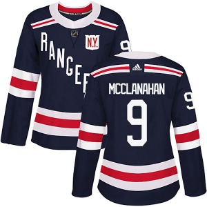 Women's Authentic New York Rangers Rob Mcclanahan Navy Blue 2018 Winter Classic Home Official Adidas Jersey
