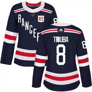 Women's Authentic New York Rangers Jacob Trouba Navy Blue 2018 Winter Classic Home Official Adidas Jersey