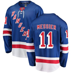 Youth Breakaway New York Rangers Mark Messier Blue Home Official Fanatics Branded Jersey