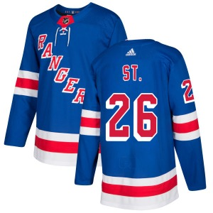 Adult Authentic New York Rangers Martin St. Louis Royal Official Adidas Jersey