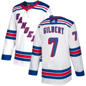 Adult Authentic New York Rangers Rod Gilbert White Official Adidas Jersey