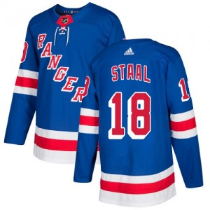 Youth Authentic New York Rangers Marc Staal Royal Blue Home Official Adidas Jersey