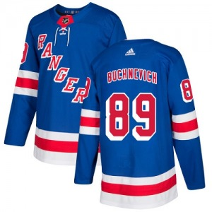 Youth Authentic New York Rangers Pavel Buchnevich Royal Blue Home Official Adidas Jersey