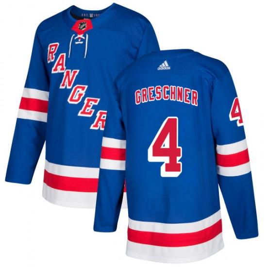Adult Authentic New York Rangers Ron Greschner Royal Official Adidas Jersey