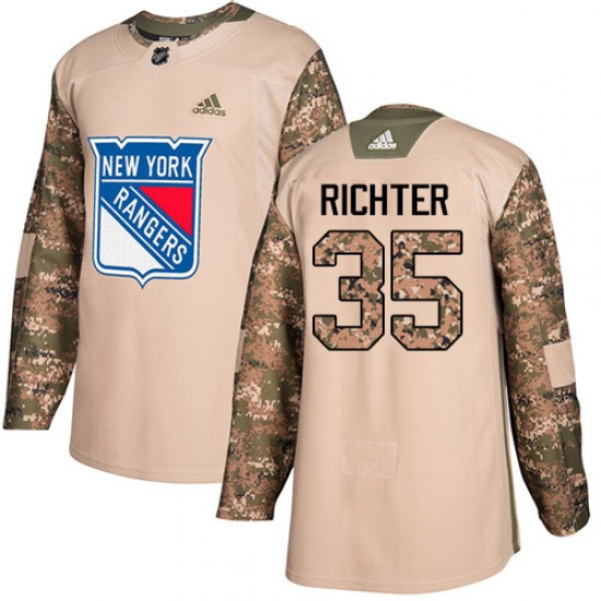the best attitude 6e507 4fbab Adult Premier New York Rangers Mike Richter White Away Official Adidas  Jersey